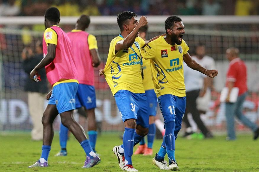 ISL 2016: Kerala Blasters Thump Chennaiyin FC 3-1