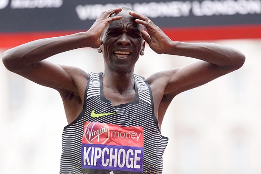 Kipchoge Eyes World Marathon Title After Win in Delhi