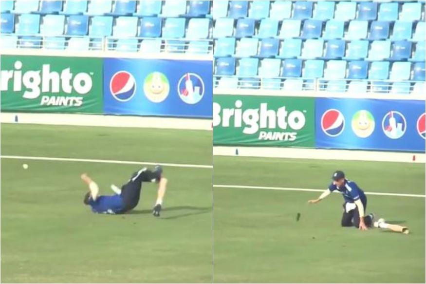 England Cricketer Liam Thomas Continues Fielding Despite Losing Prosthetic Leg