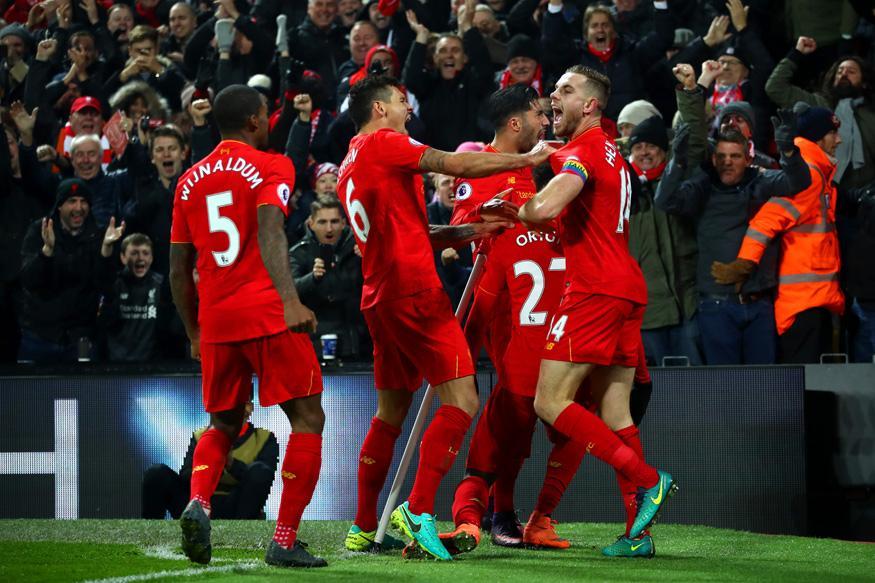 EPL: Divock Origi, James Milner Give Liverpool 2-0 Win Over Sunderland