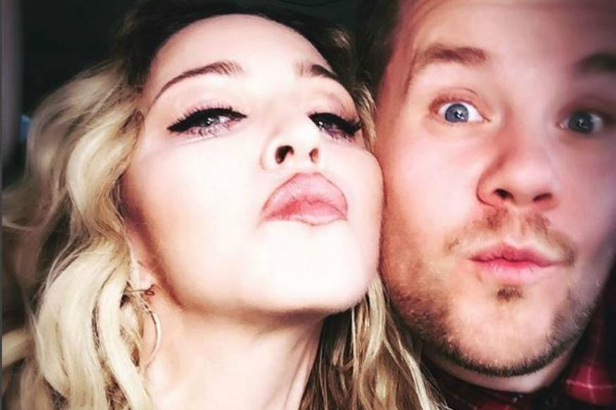 Madonna To Join James Corden On 'Carpool Karaoke'