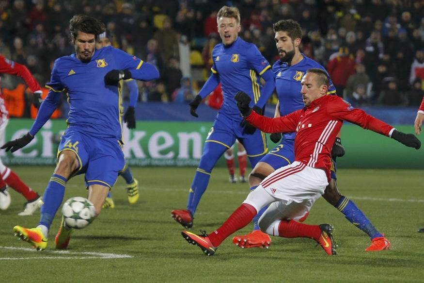 Champions League: Rostov Stun Bayern Munich to Record First Victory