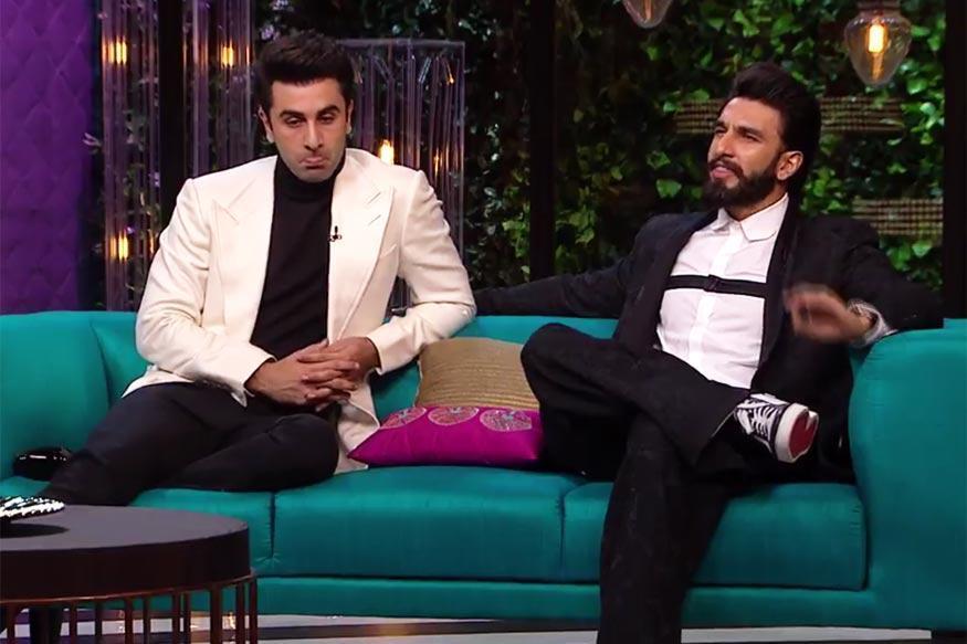 Ranbir Kapoor, Ranveer Singh Groove To Katrina Kaif's Number on Koffee with Karan