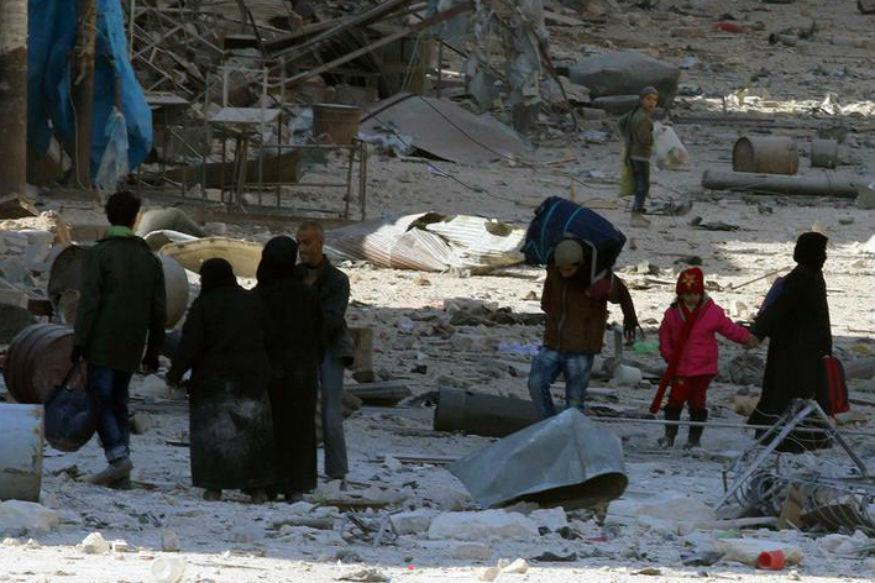Syrian Government Drives Rebels From Swathe of Aleppo