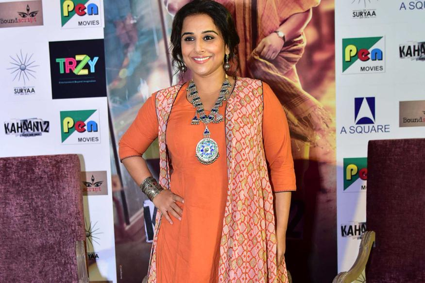 Heartening To See Women-centric Films Being Made: Vidya Balan