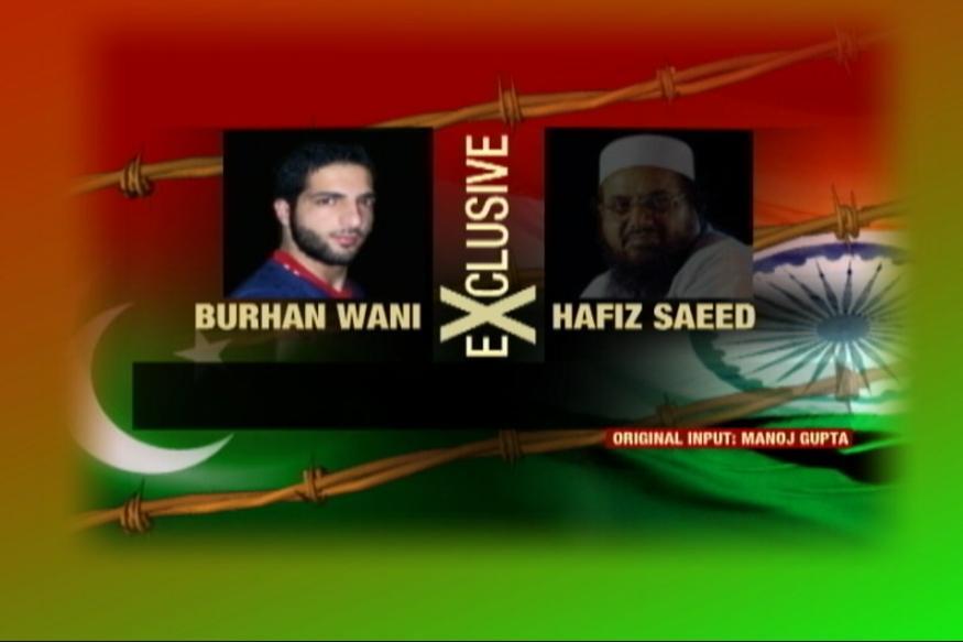 Listen To Full Audio Tape of Burhan Wani - Hafiz Saeed Conspiracy