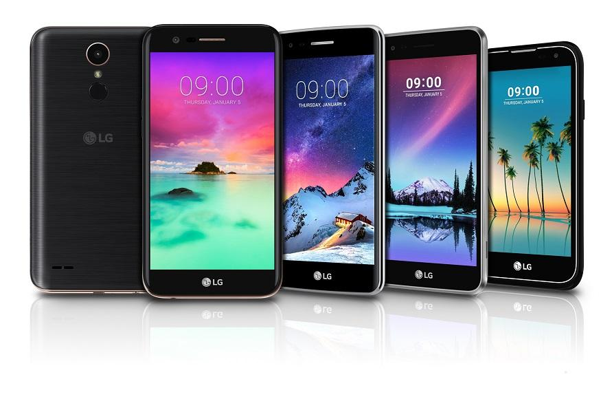 LG to unveil four new mid-range K series phones at CES 2017