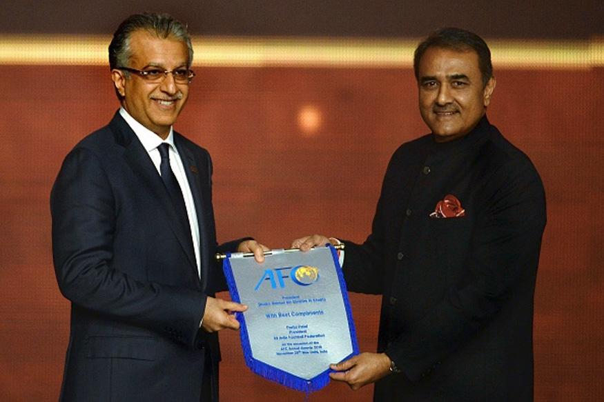 AIFF President Praful Patel Appointed AFC Senior Vice-President