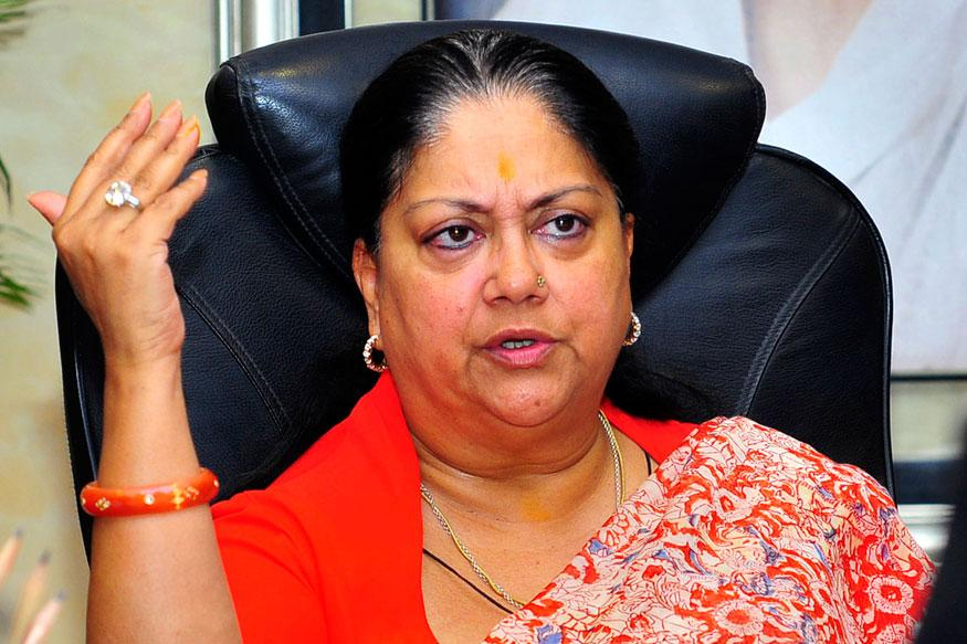 Criminal Meets Vasundhara Raje, Gets a Photo Clicked With Her, Alleges MLA