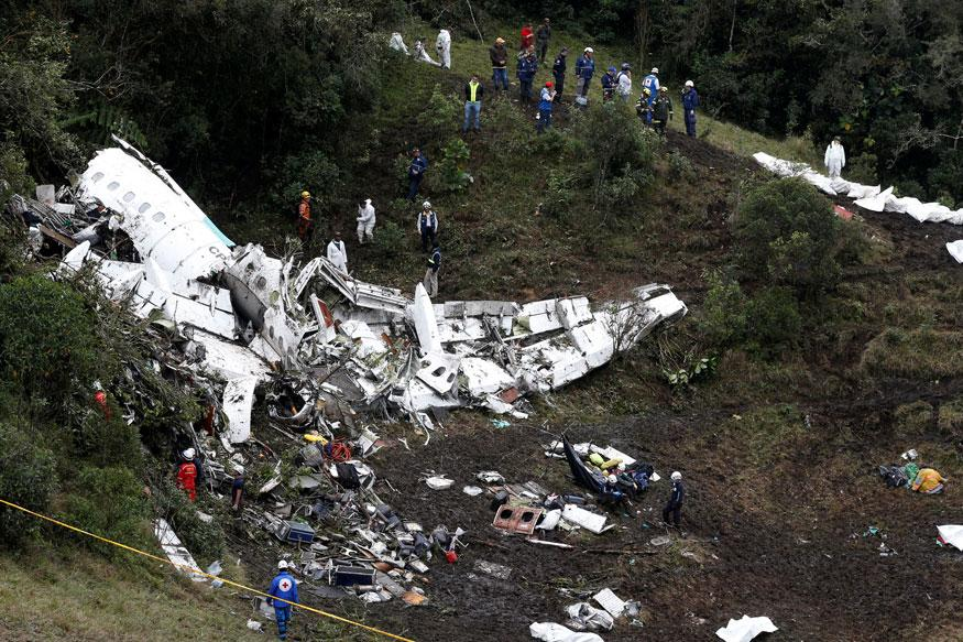 Colombia Plane Crash: Air-Traffic Controller Reports Death Threats