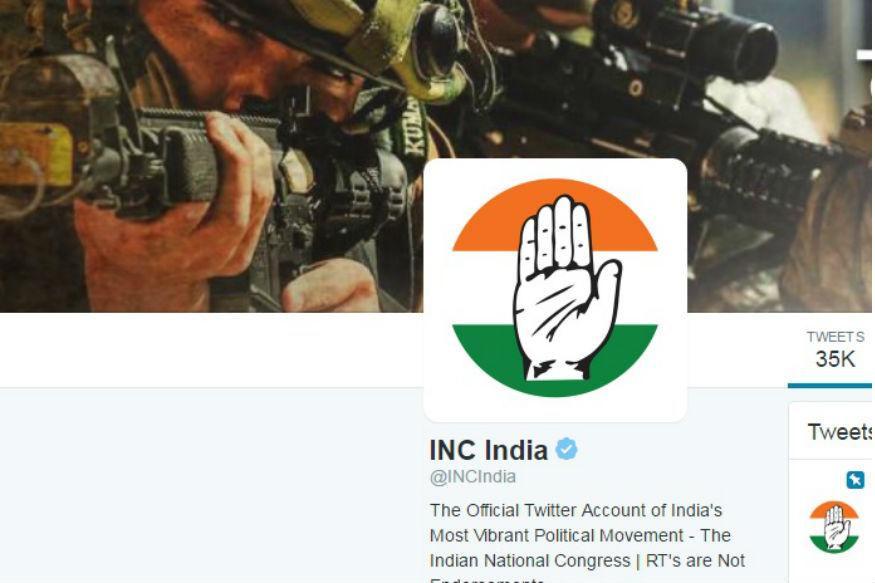 Congress Police Complaint Alleges Retweets Too Were Part of Conspiracy