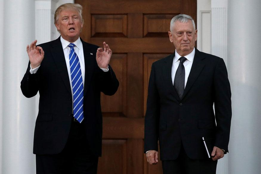 Donald Trump Chooses Retired General James Mattis as New Pentagon Chief
