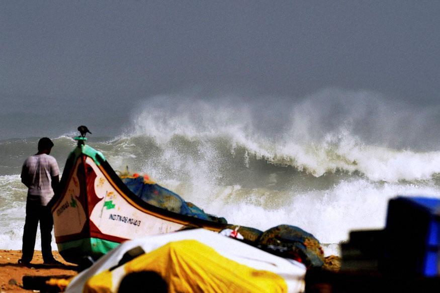 Cyclone Nada Further Weakens, Makes Landfall in Tamil Nadu