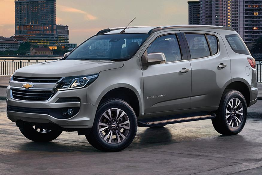 Chevrolet trailblazer facelift arriving in india early 2017 news18
