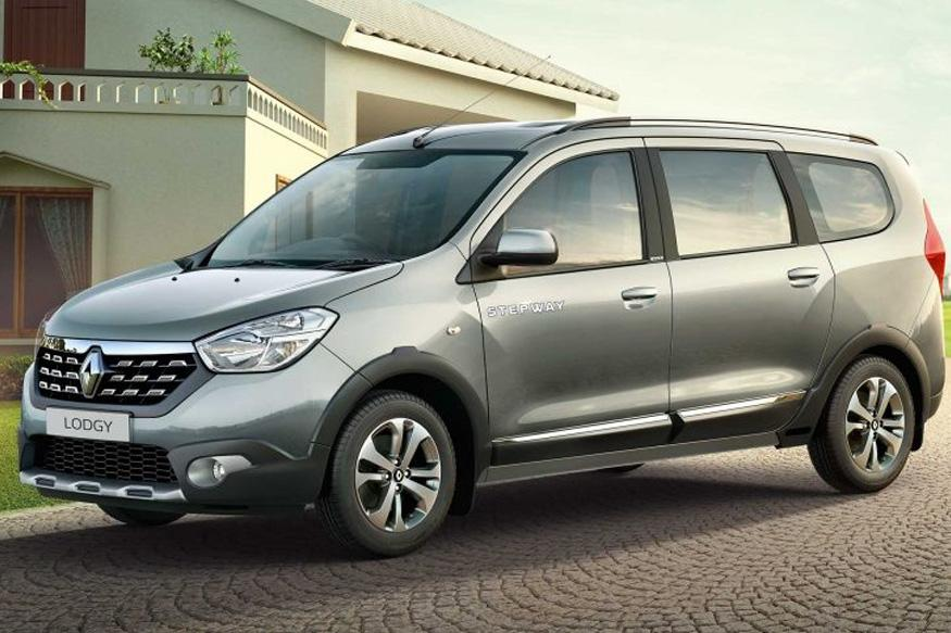 renault lodgy stepway range launched with prices starting from rs lakh news18. Black Bedroom Furniture Sets. Home Design Ideas