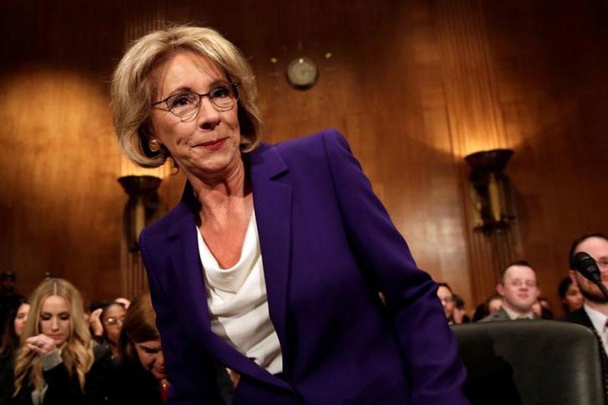 Democrats Blast at Donald Trumps Pick for Education Secretary  News18