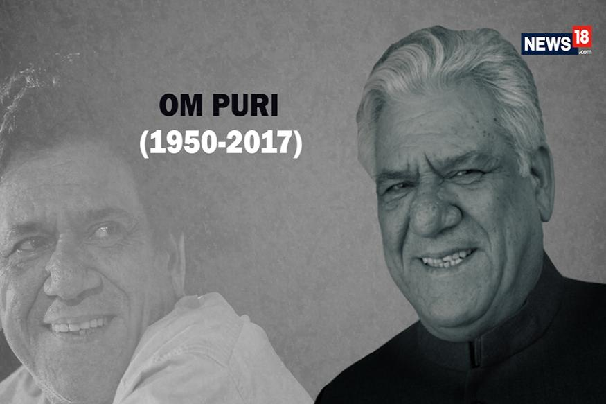Indian actor Om Puri dies at 66