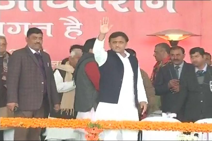 Akhilesh gets road clear, ready to 'ride' the cycle