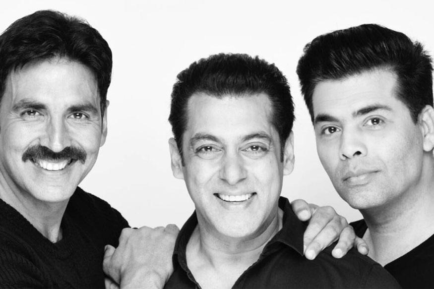 Salman Khan, Akshay Kumar, Karan Johar join hands for a new film