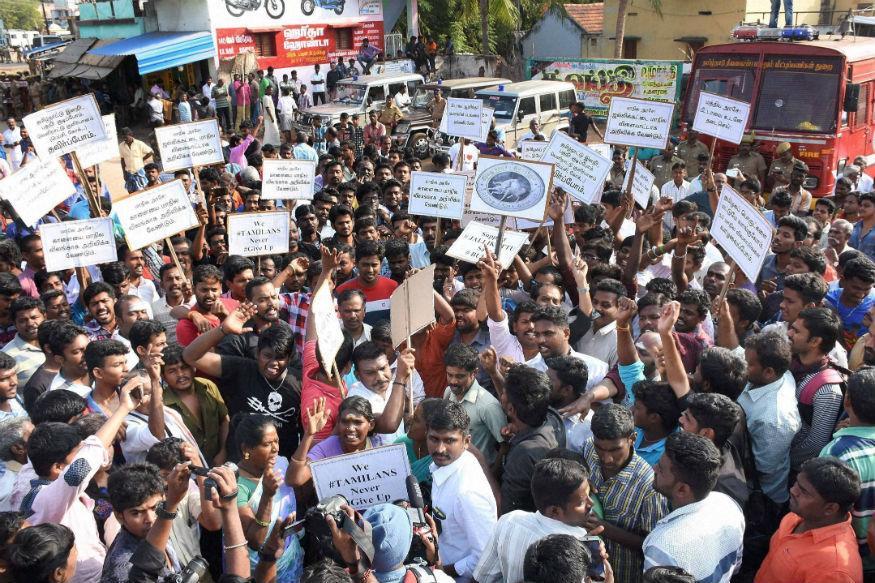 As Jallikattu protests continue, TN CM seeks legal options to remove ban
