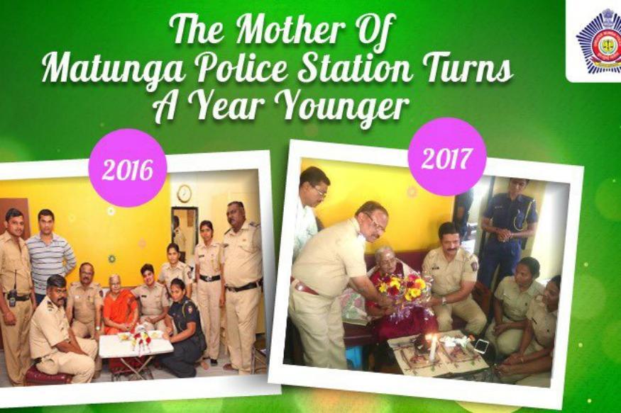 Mumbai Police Celebrates 83-YO Woman's Birthday With A Surprise Party