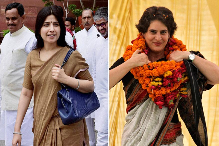 Priyanka Gandhi, Dimple Yadav appear on poster in Allahabad