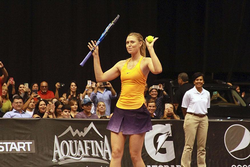 Maria Sharapova set to return to professional tennis in April