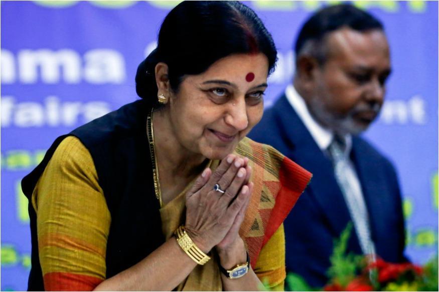 Sushma Swaraj Assures Help To Distressed Man Working In Saudi Arabia