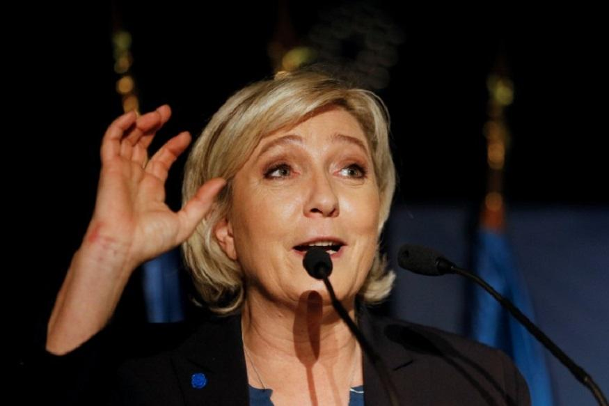 Le Pen's FN Party Calls EU Flag 'Oligarchic Rag'