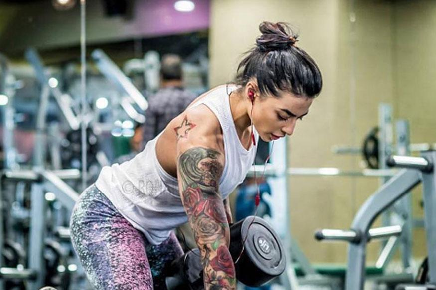 Watch: How VJ Bani Debunks Stereotypes With Her Heavy Weight Training