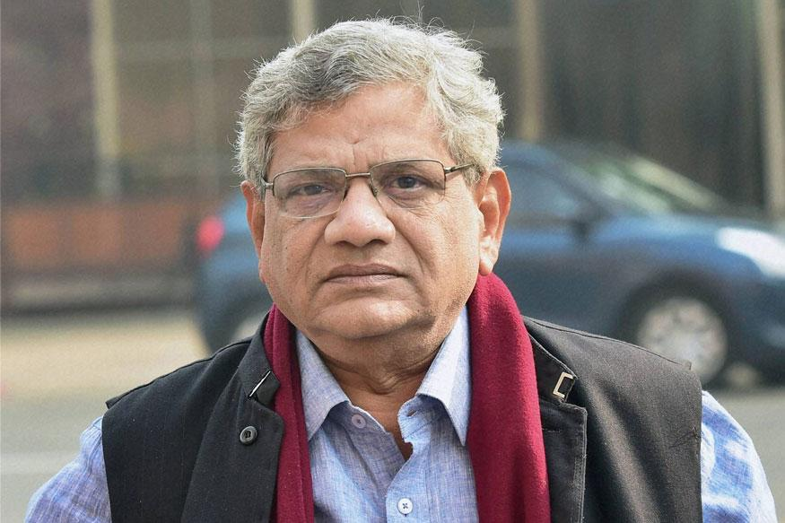 Sitaram Yechury Meets Sonia Gandhi For Talks Over Common Presidential Candidate