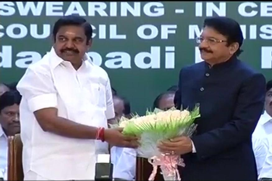 Palaniswami takes Oath as TN's Third CM in 2 Months, Trust Vote on Feb 18