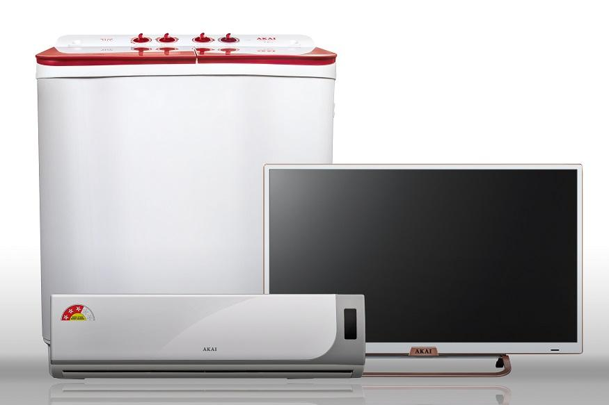 Akai Launches Range of LEDs, Washing Machines and Air Conditioners in India
