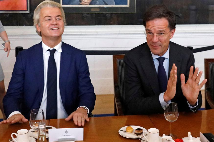 Euro hits five-week high on Dutch elecion