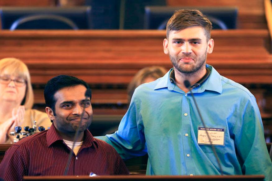 Kansas Shooting Hero: Ian Grillot to be Honoured by Indian House Houston
