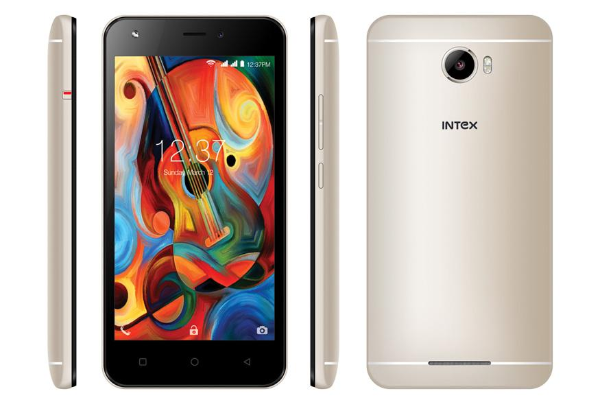 Intex Launches Aqua Trend Lite With 4G VoLTE Support at Rs 5,690