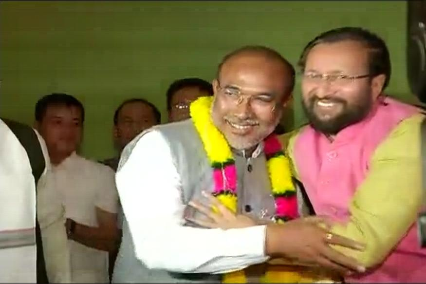 New Manipur CM Biren Singh urges Nagas to lift blockade