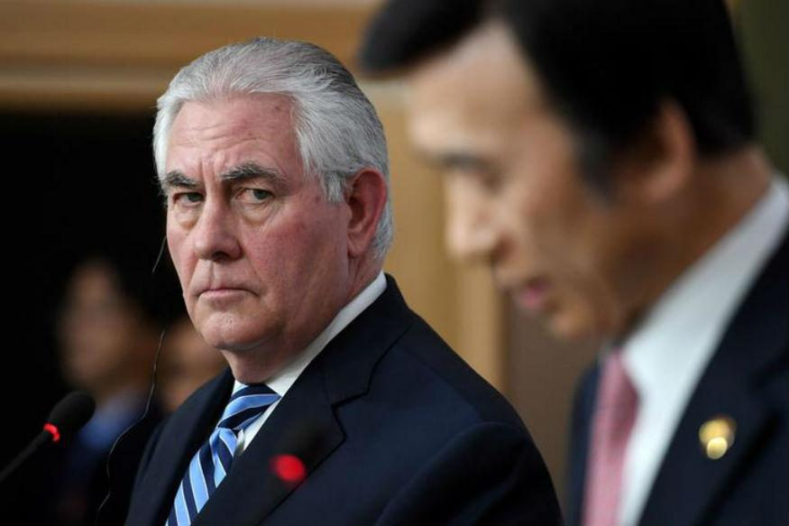 Tillerson Makes First Diplomacy Trip To Asia
