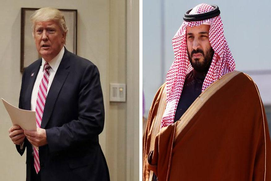 Saudi-US Relations: Trump, Prince Discuss Curbing Iran's Influence In Middle