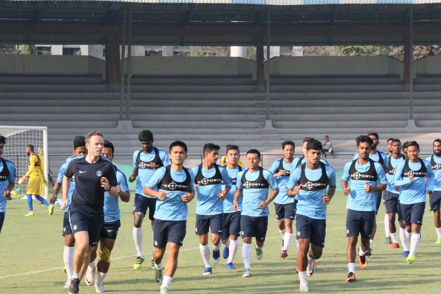 Indian Football Team to Play Friendlies Against Lebanon, Palestine