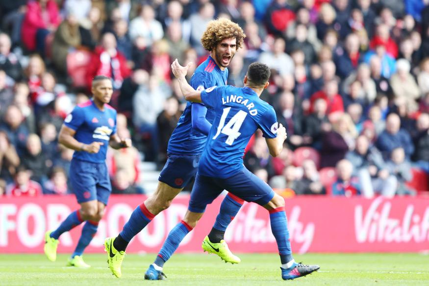 Marouane Fellaini, Antonio Valencia Score as Manchester United Beat Middlesbrough 3-1