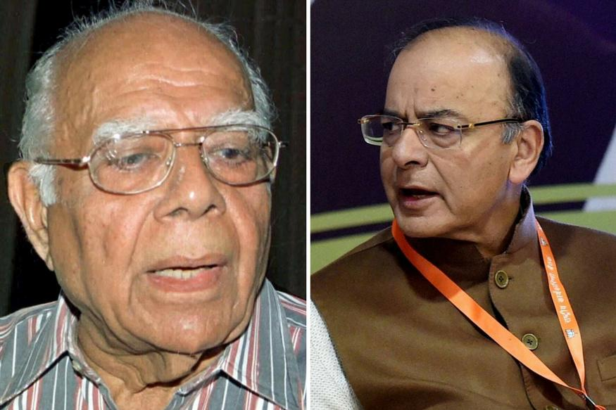 Jaitley & Jethmalani slug it out in court