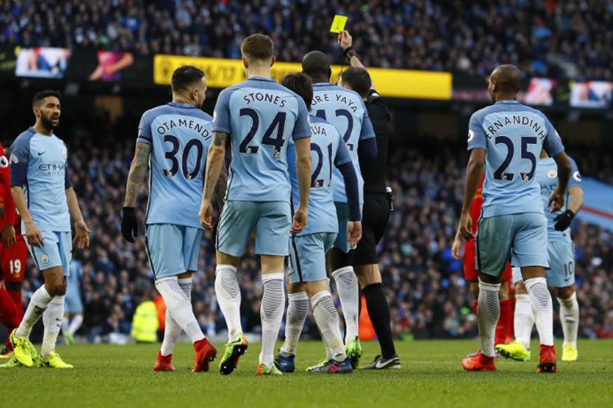 Manchester City Charged With Failing to Control Players Against Liverpool
