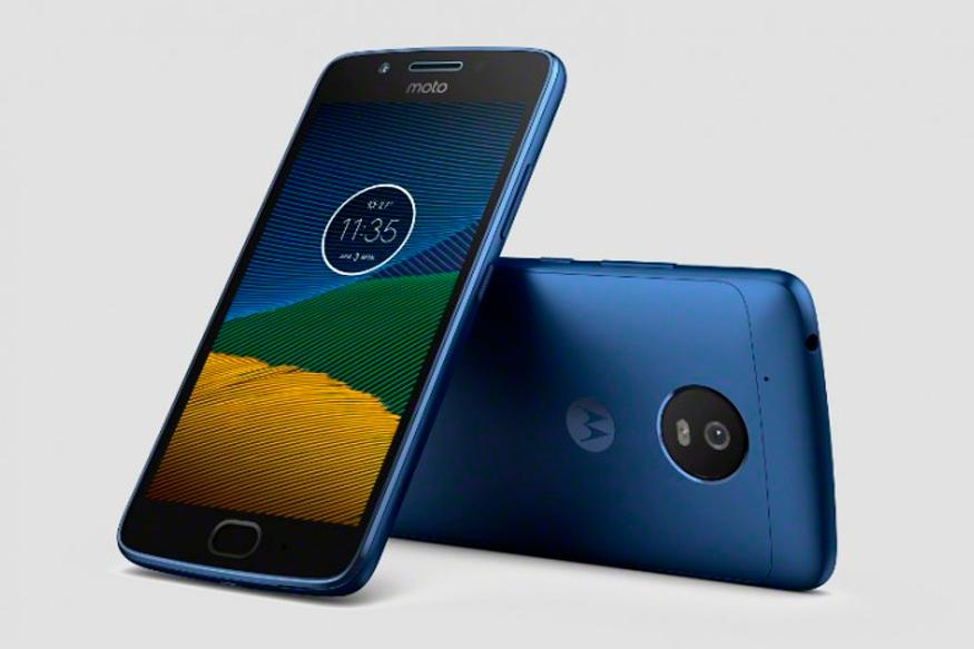 Check out the Moto G5 in a sleek Blue Sapphire color