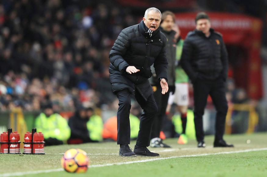 Manchester United's Jose Mourinho upset by FC Rostov playing surface