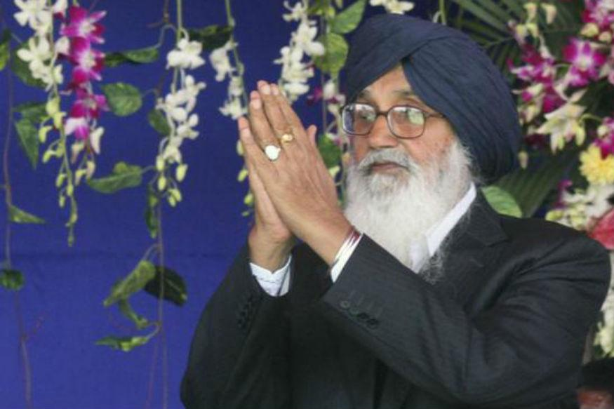 Parkash Singh Badal 'Politely' Declines Punjab CM's Offer for Govt House