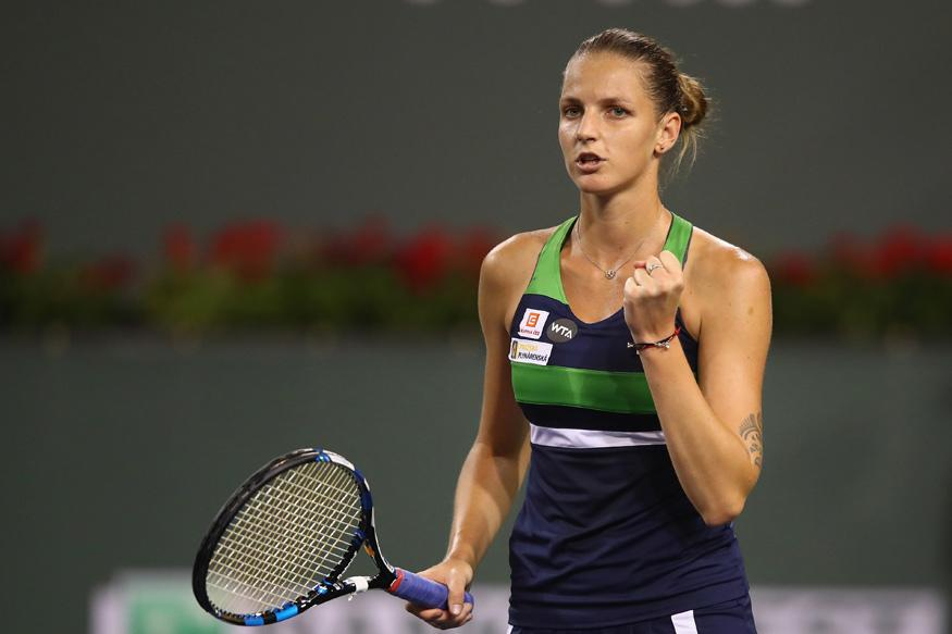 Indian Wells: Karolina Pliskova Sees Off Garbine Muguruza to Reach Semis
