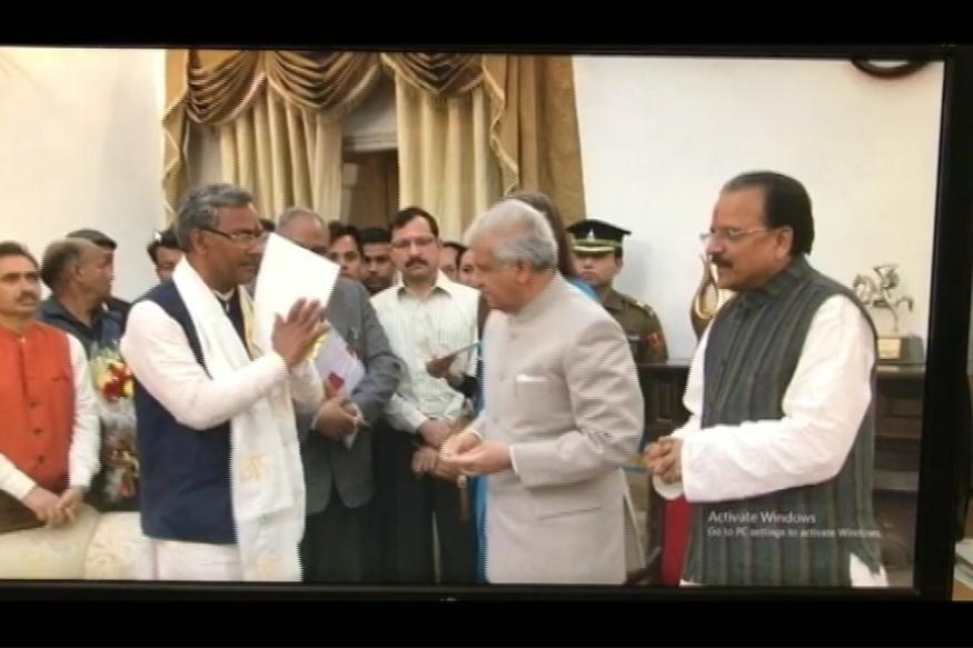 Trivendra Singh Rawat Takes Charge of Uttarakhand Today