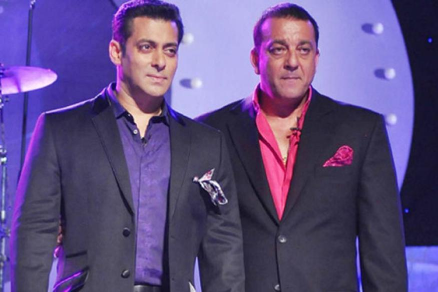 Image result for No problem between me and Salman: Sanjay Dutt