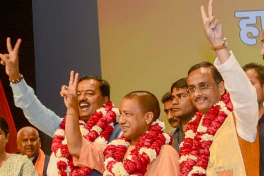 Yogi Adityanath is UP CM, Maurya, Dinesh Sharma Deputies; Swearing-in Today